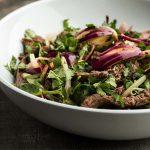 tiras-de-carne-asada-con-cilantro