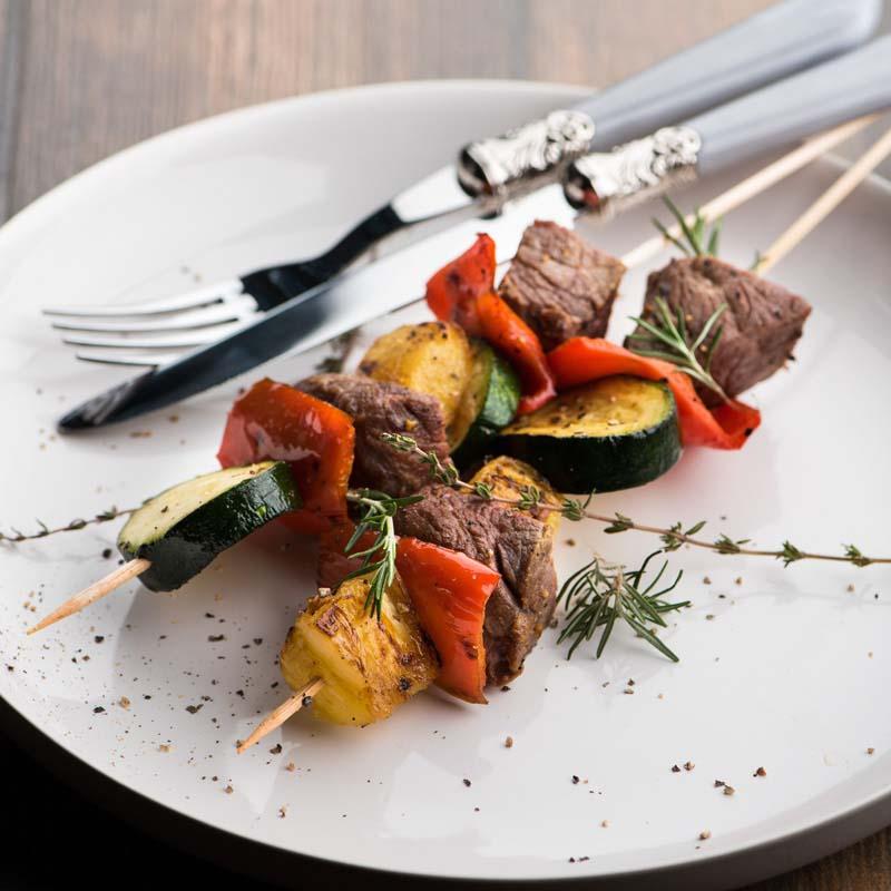 kebabs con limon