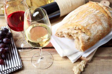 maridaje de pan y vino