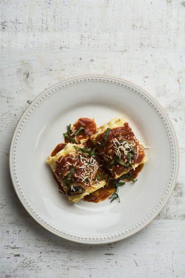 rollo de lasagna