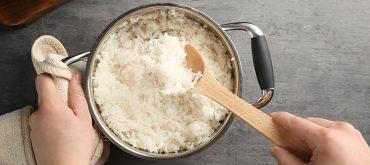 errores al cocinar arroz