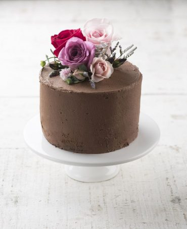 nude cake chocolate