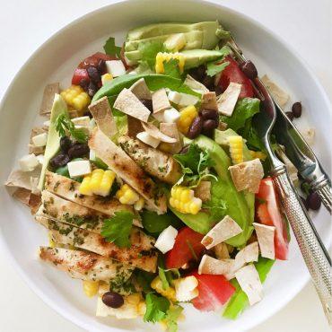 healthy-chicken-taco-salad