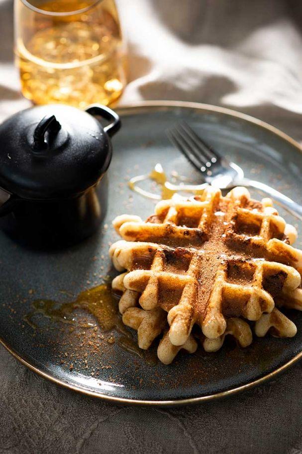 waffles-azucar-y-canela