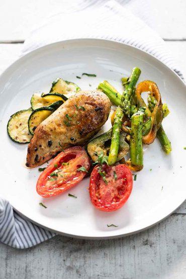 pollo-con-vegetales-y-blasamico
